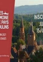 Inscriptions aux Journées du Patrimoine de Pays et des Moulins ouvertes !