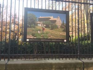une maison paysanne du Vaucluse est exposée au SENAT pour les 20ans de la Fonfation du Patrimoine